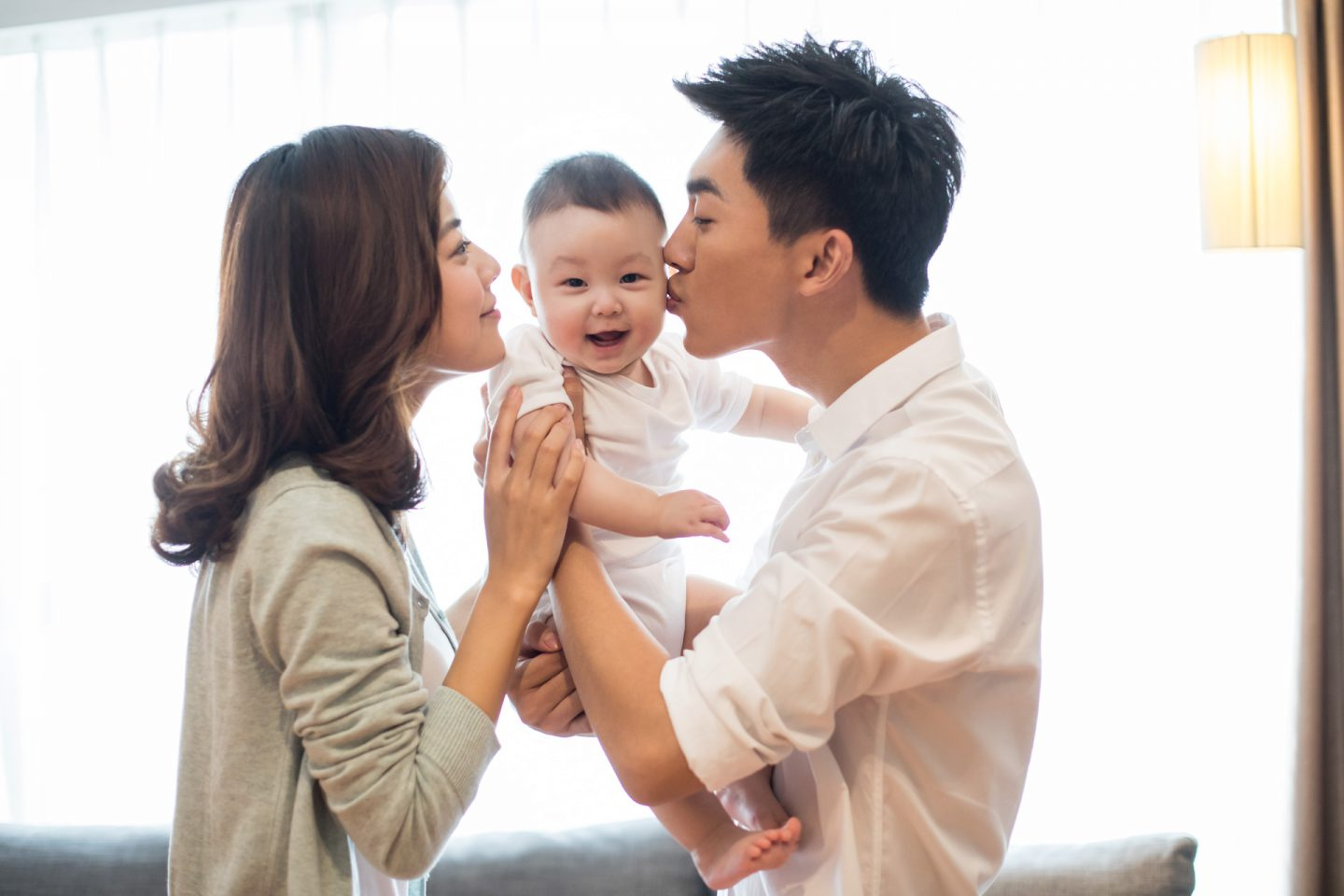 Happy young family - FWD Term Life Insurance